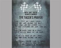 The Racers Prayer  PRINTABLE $500 Via Etsy