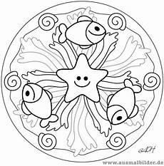 Malvorlagen Mandala Fische Fish Mandala Printables