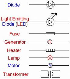 gcse physics electricity what is the circuit symbol for a diode led fuse l generator