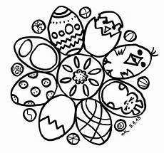 Osterhase Ausmalbilder Mandala Schaeresteipapier Mandala Mit Eier Und Osterhase