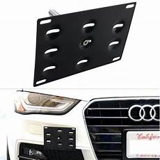license plate frames holder no drill license plate for audi a4 s4 dewhel
