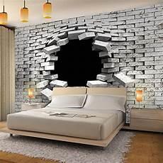 steinwand tapete wohnzimmer fototapete steinwand 3d effekt vlies wand tapete