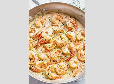 Creamy Garlic Shrimp With Parmesan (Low Carb)   Cafe Delites
