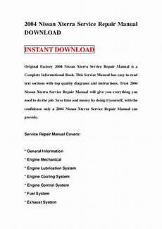 free download parts manuals 2004 nissan xterra engine control 2004 nissan xterra service repair manual download