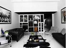 25 bold black and white interior design ideas