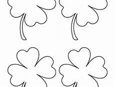 kostenlose malvorlagen kleeblatt malvorlage kleeblatt zum ausdrucken