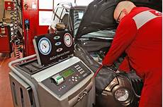 Klimaanlage Im Auto Reinigung Wartung Funktion