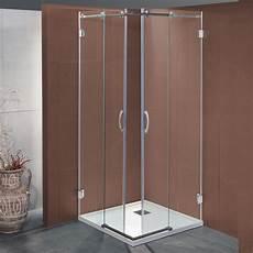 box doccia 80x80 cristallo box doccia scorrevole bapu da 80x80 cm in cristallo 8 mm