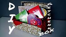 diy geschenkbox quot last minute idee quot