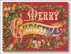 things deco vintage merry christmas cards