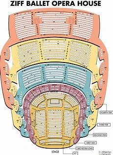 york opera house seating plan seating maps adrienne arsht center