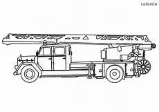 ausmalbild kostenlos feuerwehrauto kinder ausmalbilder