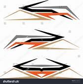 Vehicle Graphics Stripe Vinyl Ready Vector Stock