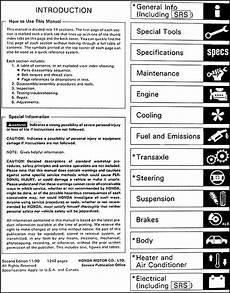automotive service manuals 1988 honda accord auto manual 1991 honda accord repair shop manual original