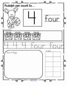 algebra worksheets sheet 8351 reindeer number practice printables recognition tracing counting 1 20 counting to