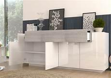 credenza madia madia moderna biella mobile soggiorno bianco e rovere grigio