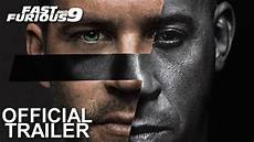 Fast Furious 9 Fantrailer 1 2020 Vin Diesel Paul