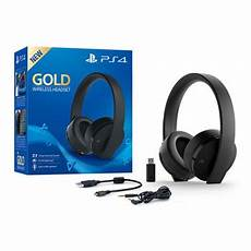 sony playstation gold wireless 7 1 stereo gaming headset