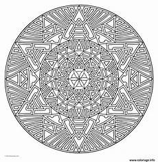 Mandala à Imprimer Pour Adulte Coloriage Mandala Pour Adulte Therapie Jecolorie