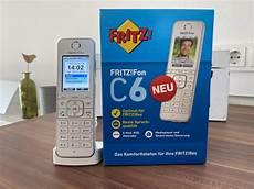 Test Fritz Fon C6 Schnurloses Dect Telefon Avm