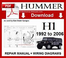 hummer h1 workshop repair manual download