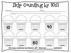 skip counting by tens worksheets 11998 100th day of school thematic unit sprinkles count and activities