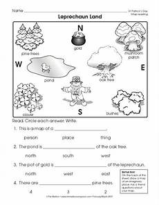 reading a map worksheet easy and free to click and print social studies worksheets map