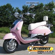 2011 Roller Zn50qt H Retro Pink 25 Or 45 Km H