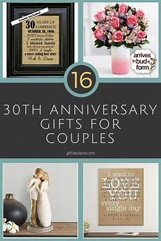 30 Year Wedding Anniversary Gifts For Couples 30 30th wedding anniversary gift ideas for him