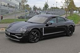 New Porsche Taycan Electric Four Doors Interior Revealed