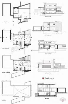 gropius house plan abele house dwg breuer and gropius projects dwg
