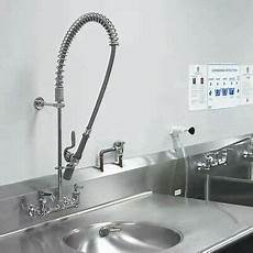 industrial kitchen sink faucet new commercial kitchen restaurant sink tap pre rinse faucet sprayer assembly 625678097062 ebay
