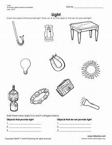 grade 5 science worksheets light 12290 all about light