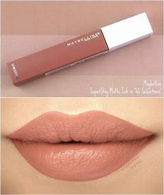 maybelline superstay matte ink quot 65 seductress quot review