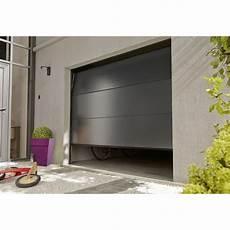 Porte De Garage Sectionnelle Motoris 233 E Artens Essentiel H