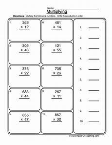 2x3 digit multiplication worksheet have fun teaching
