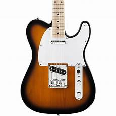 squire affinity telecaster squier affinity series telecaster electric guitar 2 color sunburst musician s friend