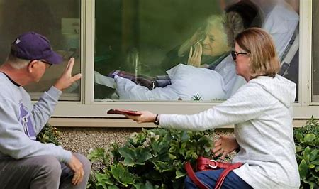 Image result for grandparents in care homes during virus