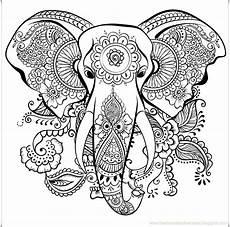 Ausmalbilder Elefant Erwachsene Ausmalbilder F 195 188 R Erwachsene Elefant Neu Drucker Stift