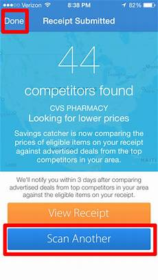 how to enter receipts for walmart s savings catcher program on the walmart for iphone app