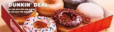 dunkin donuts leipzig dunkin donuts 24er box donuts f 252 r nur 9 99 in berlin