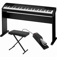 Casio Cdp 130 Digital Piano With Cs44 Wood Stand Sustain