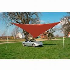 sonnensegel dreieckig sonnensegel dreieckig 5x5x5 m rot sonnenschirme garten