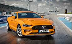 wallpaper ford mustang gt fastback yellow 2018 4k automotive cars 13998