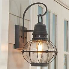 seeded glass globe outdoor wall lantern large shades of light