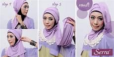 Tutorial Jilbab Cara Memakai Jilbab Pashmina Simple Warna