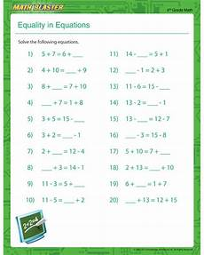 equation word problems worksheet 4th grade 11463 equality in equations equation worksheet for math blaster