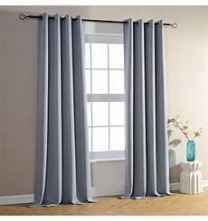 rideaux gris lot de 2 rideaux occultant gris 140 x 260 cm