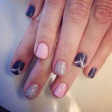 simple but cute gel polish design simple gel nails gel