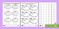 managing money worksheets uk 2807 money coins worksheets writing frames early years eyfs